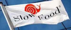 Slow food flag