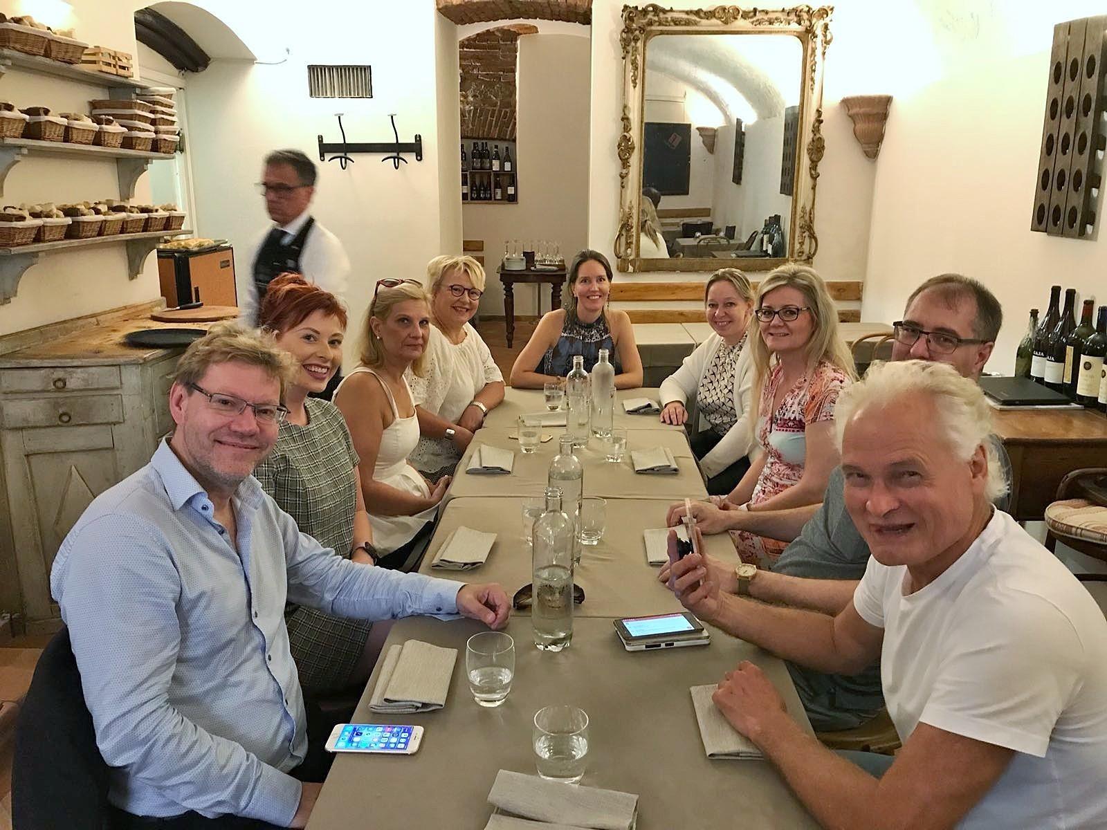 KESSU delegation visiting Milan