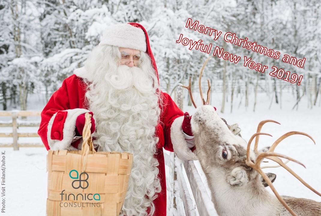 Merry Christmas and Joyful New Year 2019!