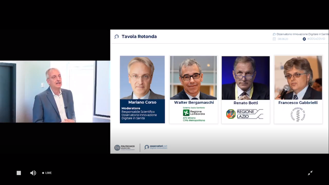 Pandemic boosts the Italian health care digitalization