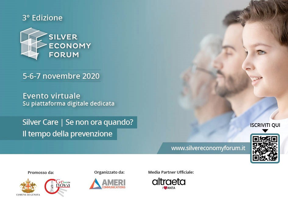 Silver Economy Forum gathering the Italian players to discuss about silver economy